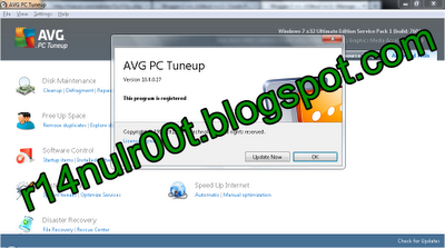 AVG PC Tuneup 2012 + License Key Gratis