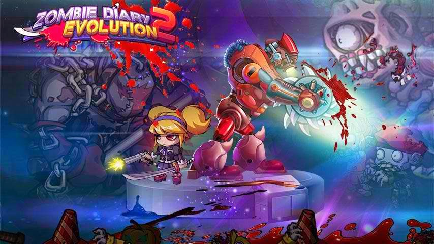 Download Zombie Diary 2 Evolution MOD APK 1.0.8 (Unlimited Money)